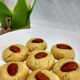 Chinese Almond Cookie / Kue Almond