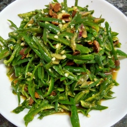 Sauteed Green Chillies